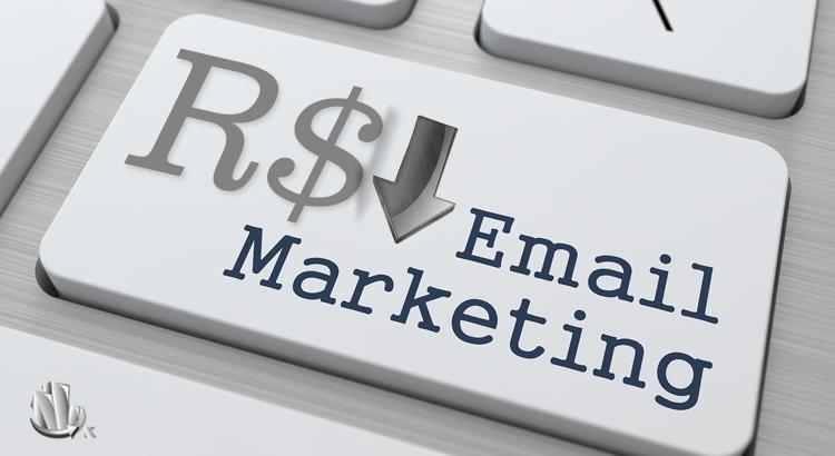 Baixo custo de e-mail marketing
