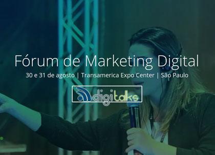 Inovação, tendências e ícones do mercado digital nacional e internacional são alguns atrativos do EXPO Fórum de Marketing Digital
