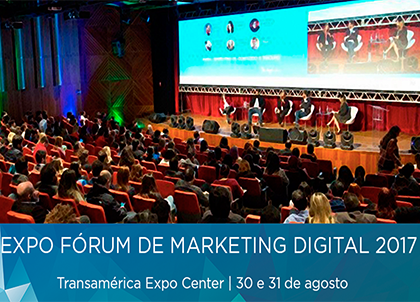 Kasterweb marcou presença na Expo Fórum de Marketing Digital 2017 – Digitalks