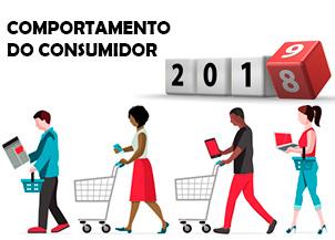 Como foi o comportamento do consumidor na internet em 2018