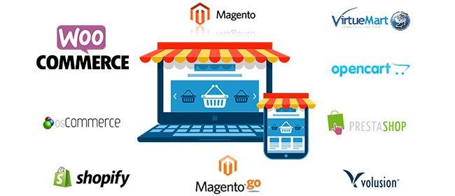 Exitem diversas plataformas para criar um e-commerce